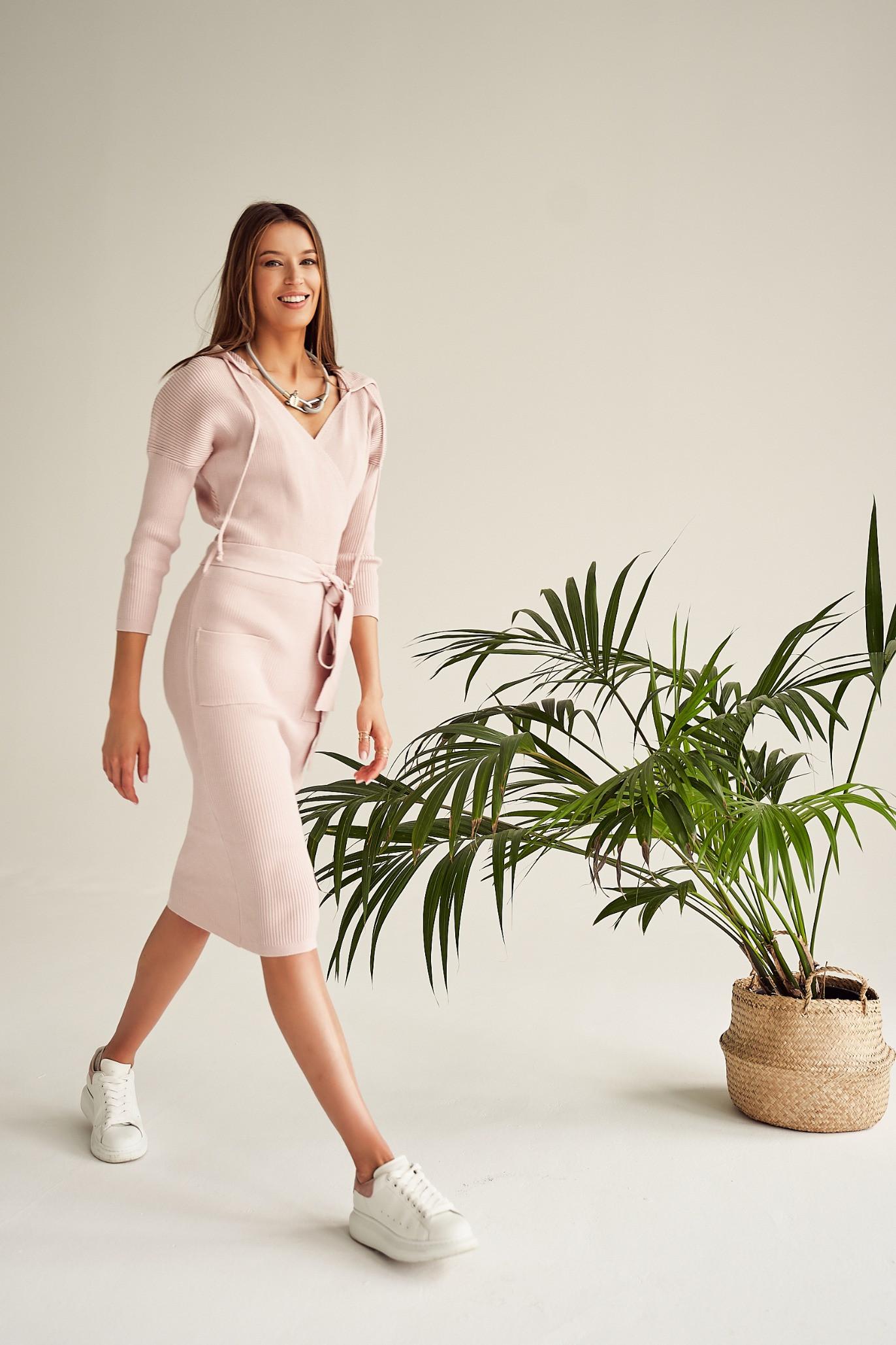 Sukienka Leonie CREAM ROSE