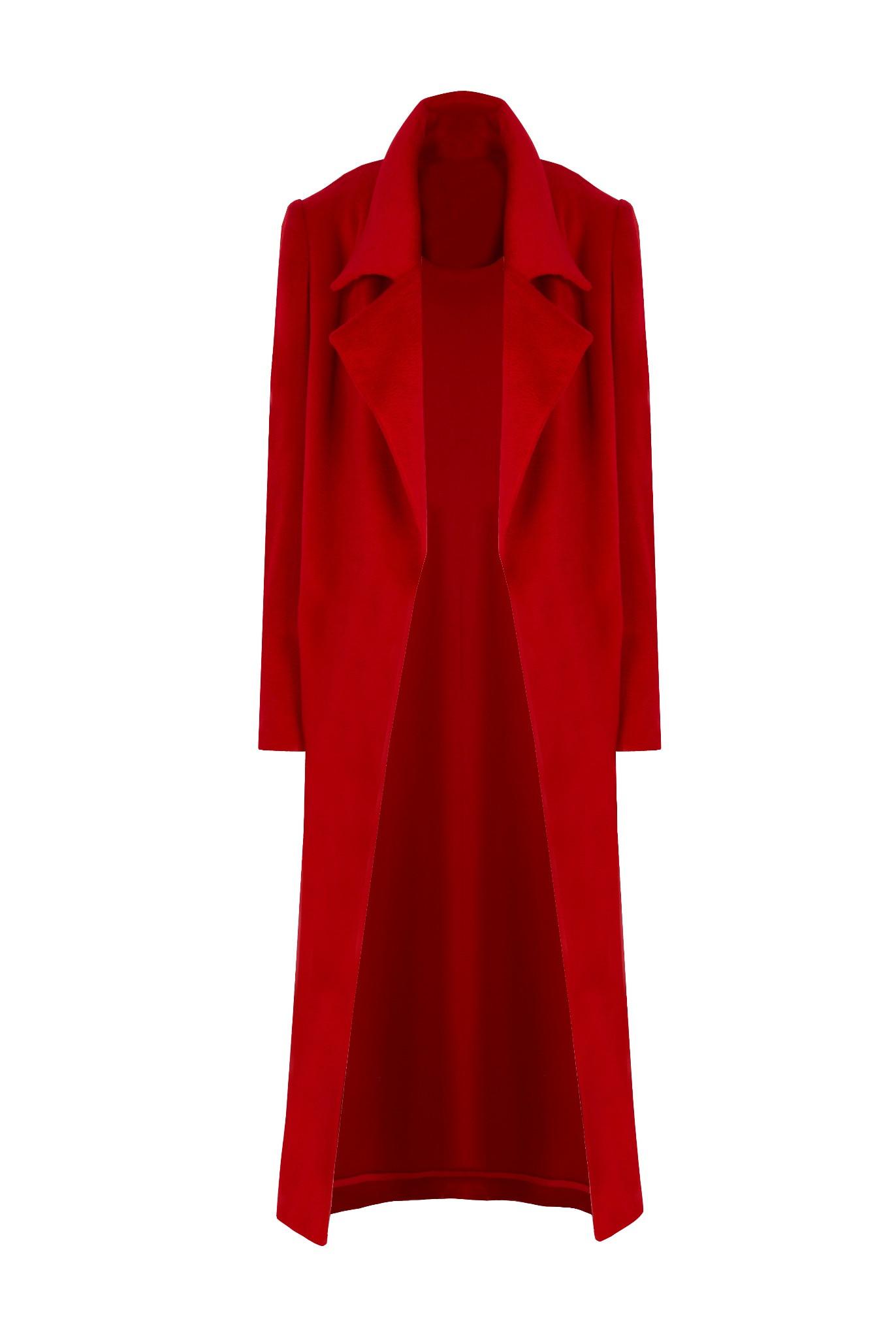 Kaszmirowy płaszcz