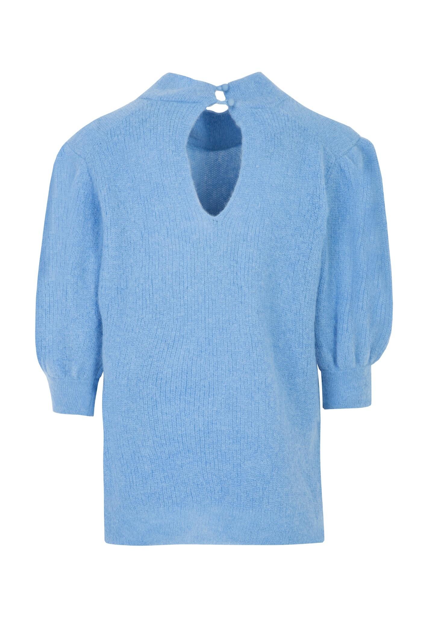 Sweter z krótkim rękawem BLUE SKY